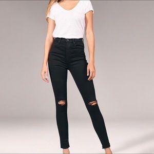 Simone Ultra Skinny high rise  jeans (6 Long)